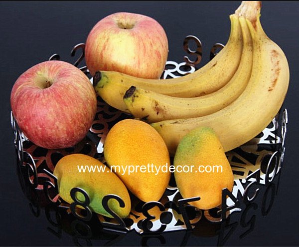 Modern Stainless Steel Fruit Tray