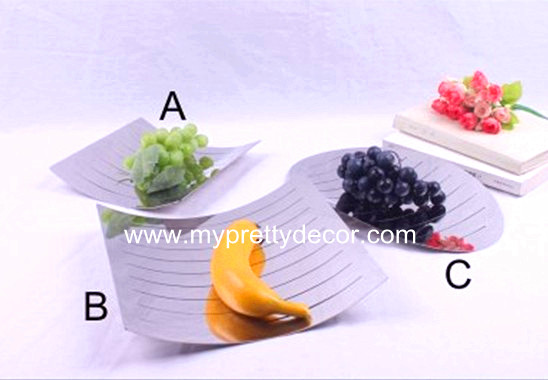 Stainless Steel Fruit Plate
