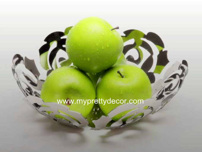 Modern Stainless Steel Fruit Plate
