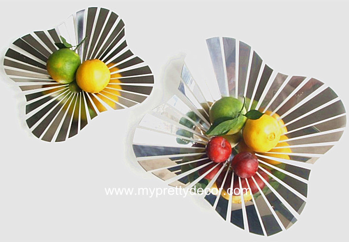 Creative Stainless Steel Fruit Bowl