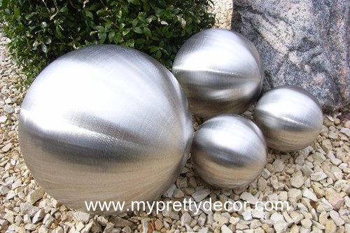 Stainless Steel Ball Brushed